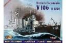 1/400 German V-106 Torpedo ship