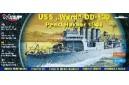 1/400 USS Ward DD-139 Pearl Harbor 1941