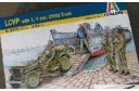 1/35 LCVP w/ Jeep and 5 soldiers