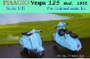 1/32 (1/35) Piaagio Vespa 125 Mod. 1955