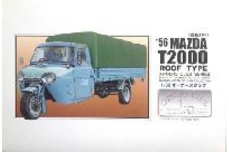 1/32 (1/35) MAZDA T2000 SOFT TOP 1956