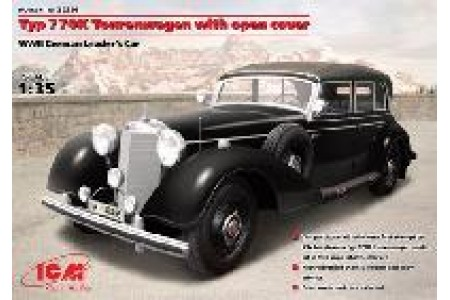 1/35 Typ 770K Tourenwagen w/ open top