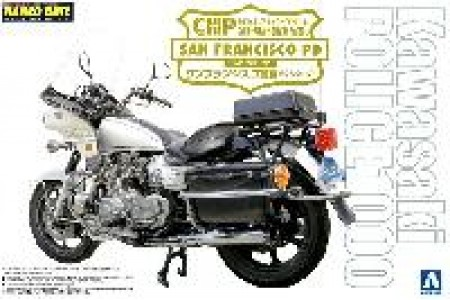 1/12 Kawasaki CHP California Patrol