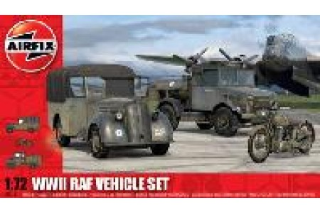 1/72 WWII RAF Vehicle set