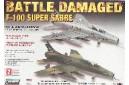 1/72 F-100 Super Sabre Battle Damaged