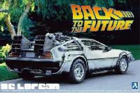 1/24 Back to Future De Lorean Part 1