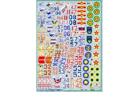 1/48 Su-27 Flanker Family Decal (Part 2)