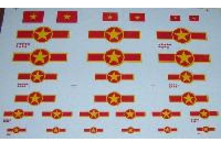 1/48 (All scale) Decal VPAF-Vietnam