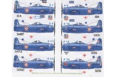 1/72 French F-8F Bearcat Indochine