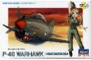 Collectible egg-plane P-40 warhawk (unbuilt)