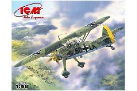 1/48 HS-126 A1 German recon aircraft