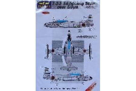 1/72 T-33 over Libya decal