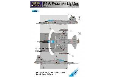 1/48 Libyan F-5A Freedom fighter decal