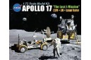 1/72 Apollo 17 CSM + LM + Lunar rover