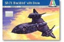 1/72 SR-71 Blackbird w/ drone