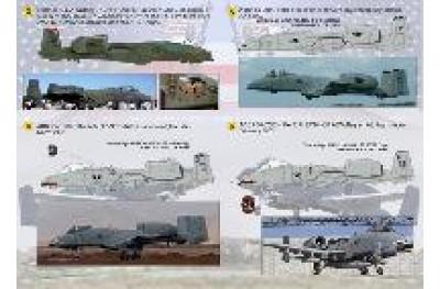 1/48 A-10 Thunderbolt II decal