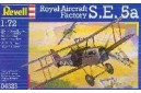 1/72 Royal aircraft factory S.E.5a