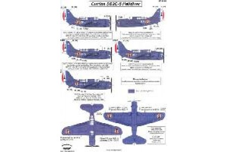 1/48 French SB2C-5 Indochina decal