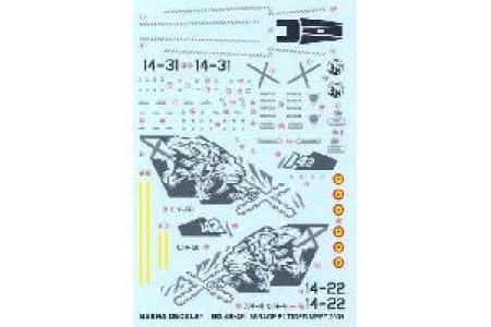 1/48 Mirage F-1M Tiger Meet 2009 decal