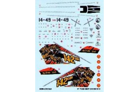 1/48 Mirage F-1M Tiger Meet 2006 decal