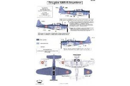 1/32 French SBD-5 Indochina decal
