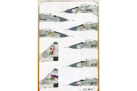 1/48 MiG-29 Fulcrum decal