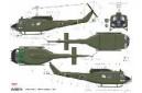 1/72 UH-1D ROK Army Vietnam war
