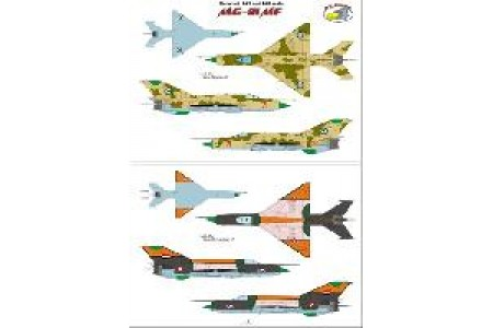 1/48 International MiG-21 decal Vol. 2