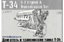 1/35 T-34 V-2 Engine & Transmission