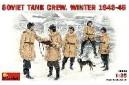 1/35 Soviet Tank crew winter