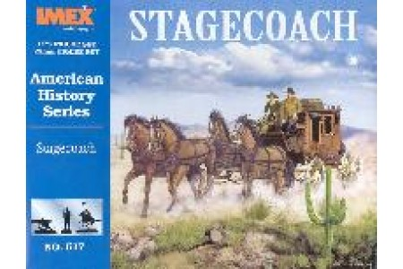 1/72 Stagecoach w/drivers