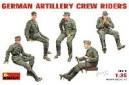 1/35 German Artillery Crew Riders