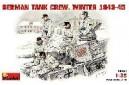 1/35 German Tank Crew Winter