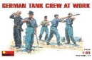 1/35 German Tank Crew At Work