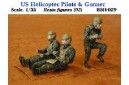 1/35 US Helicopter Pilots & Gunner