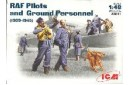 1/48 RAF Pilots & Ground Personnel