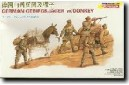 1/35 German Gebirgsjager w/donkey