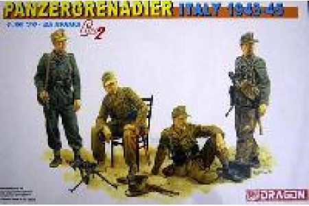 1/35 Panzergrenadier Italy 1943