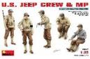 1/35 US Jeep crew & MP