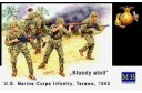 1/35 Bloody Atoll - US marine corps infantry