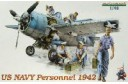 1/48 US Navy Personnel 1942