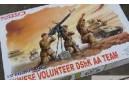 1/35 Chinese volunteer AA Dshk team