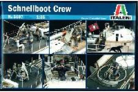 1/35 Schnellboot crew