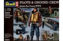 1/72 Pilots & ground crew Royal AF WW2