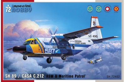 1/72 CASA 212 Anti submarine and Maritime patrol