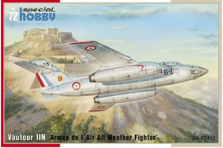 1/72 Vautour IIN French fighter (2 seater)