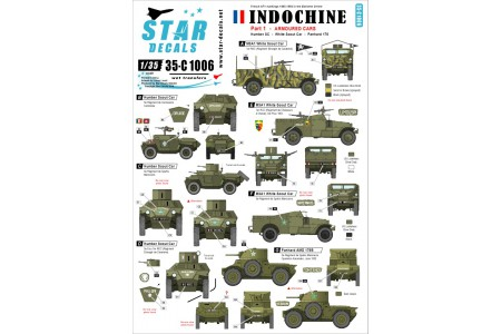 1/35 Indochine Decal Part 1