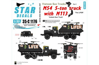 1/35 Vietnam Gun trucks Decal Part 1