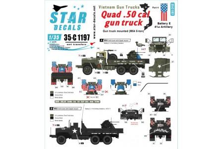 1/35 Vietnam Gun trucks Decal Part 4