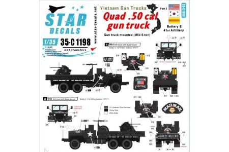 1/35 Vietnam Gun trucks Decal Part 5